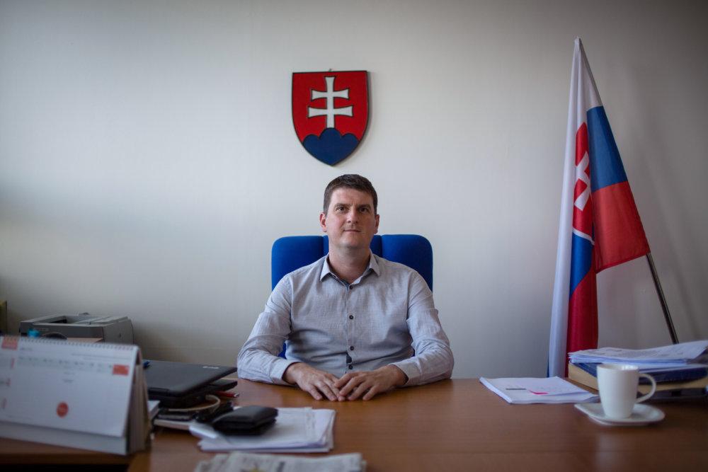 Šéf PMÚ Tibor Menyhart. Foto N - Tomáš Benedikovič