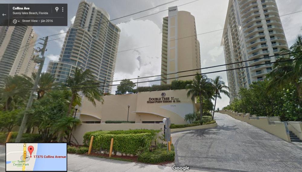 Apartmán, ktorí vlastnia Bystrík a Rastislav Palovičovci je v tejto výškovej budove. Zdroj: Google Maps