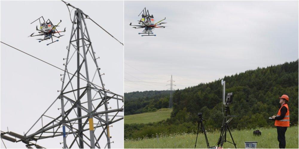 dron kolaz