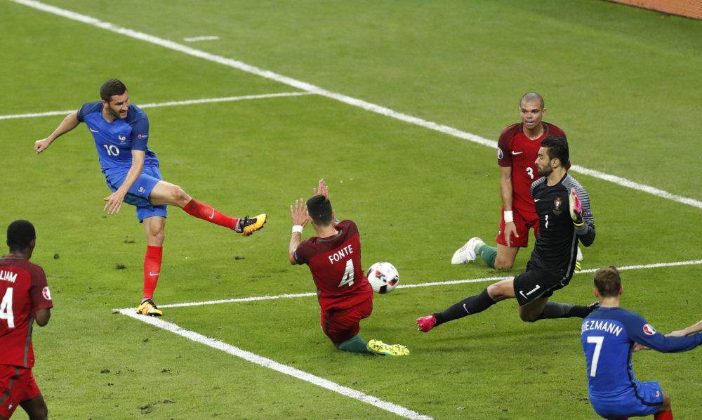 Soccer Euro 2016 Portugal France