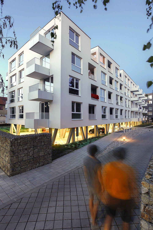 Bytové domy – Avana v Stupave. Foto - Tomáš Manina