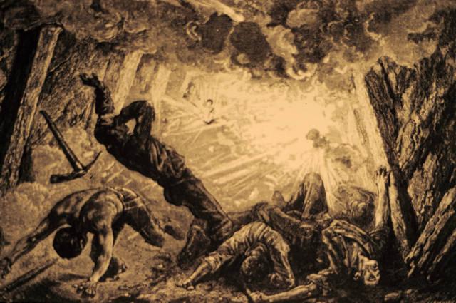 Odhaduje sa, že celkovo zahynulo v amerických baniach do roku 1950 130-tisíc ľudí. Zdroj - Pennsylvania State Archives