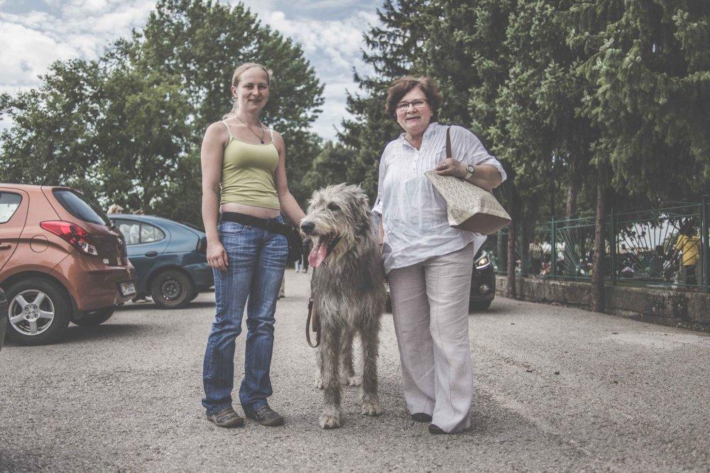Manželka Dobroslava Pustaja, ktorý si odsedel 16 rokov. Foto - Katarína Ácel-Gáliková