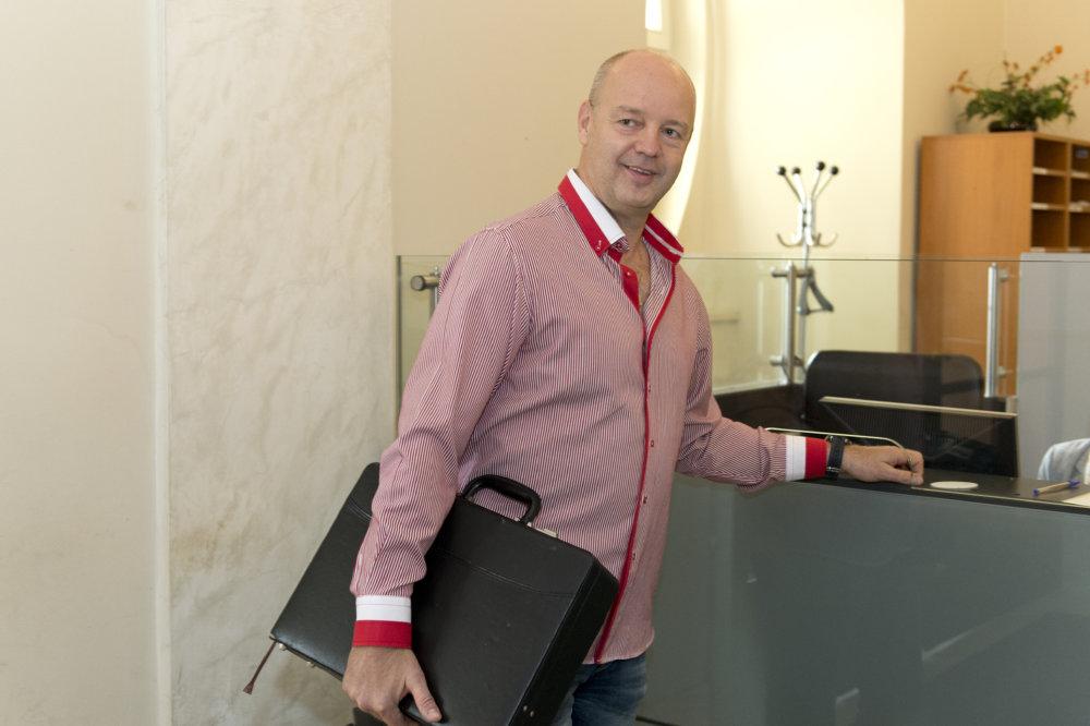 Pavol Rusko na Úrade vlády v roku 2016. Foto - TASR