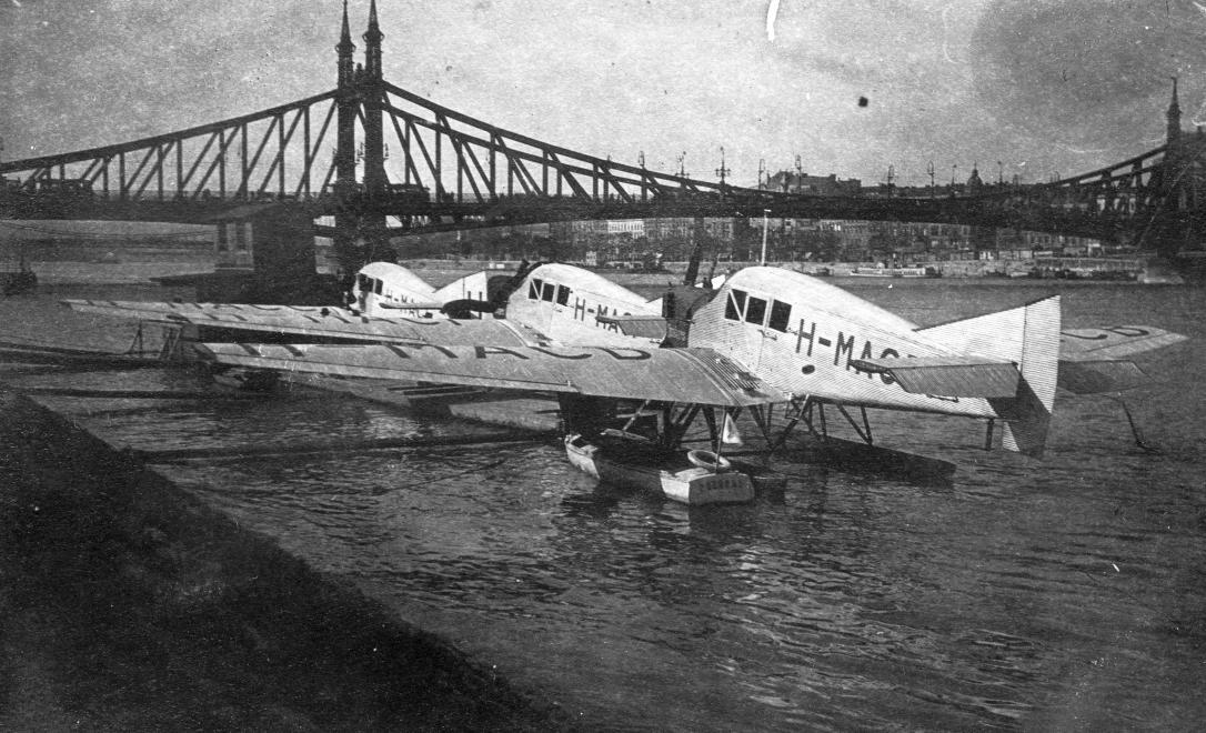Hydroplány na Dunaji (1925)