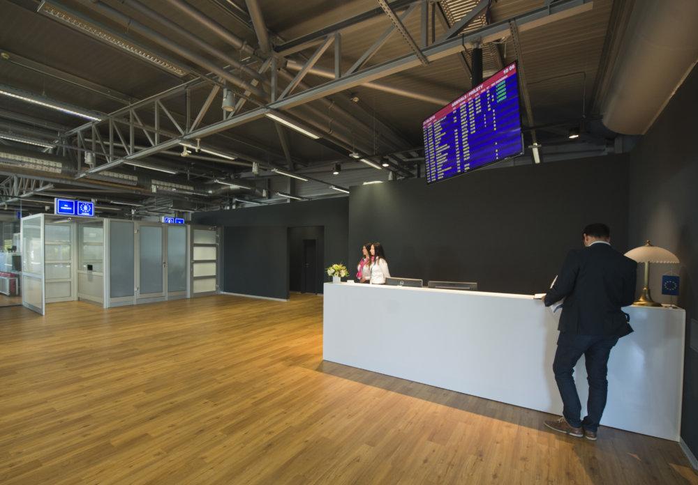 nový VIP terminál na bratislavskom letisku