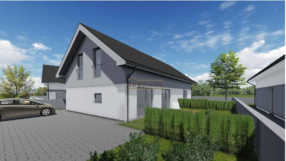 Vilová štvrť Pod Kopcami na okraji Stupavy bude bývaním pre náročných, sľubujú inzeráty. Zdroj: Rebmans