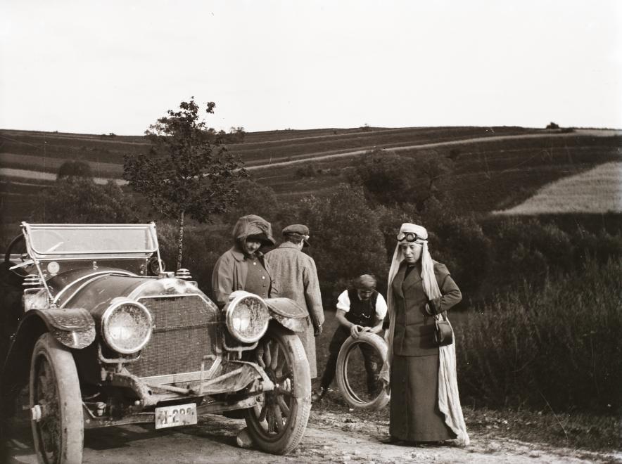 Trampoty na ceste (1921)