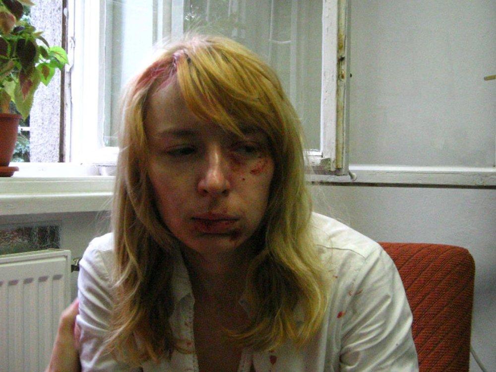 Dobitá študentka 25.augusta 2006. foto - TASR