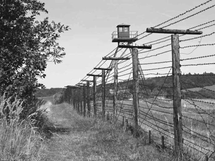 Prtísne strážená hranica. foto - TASR