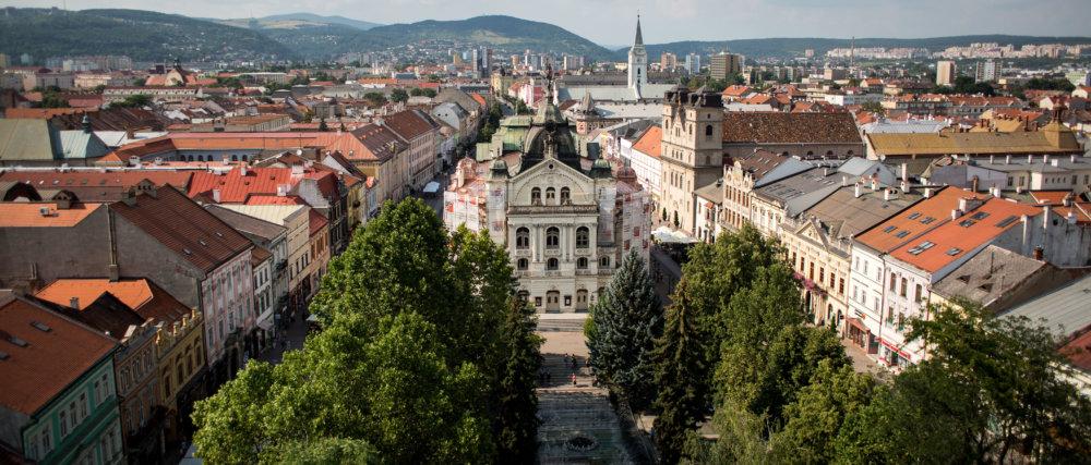 Košice Hlavná ulica Štátne divadlo