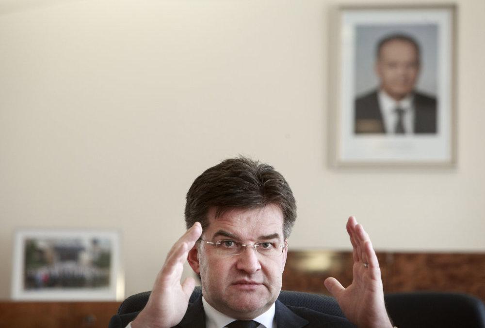 Minister zahraničných vecí Miroslav Lajčák. Foto N - Tomáš Benedikovič
