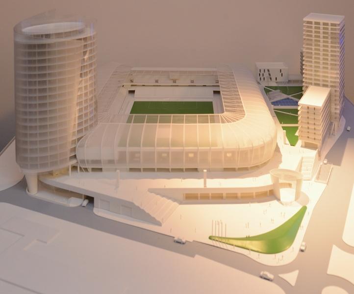 V roku 2018 bude stáť na Tehelnom poli takýto komplex so štadiónom. Foto - Ministerstvo školstva