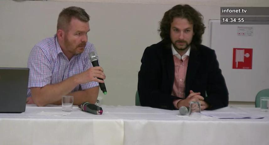 Prokurátori Patrik Hujsa a Matej Podmajerský vystúpili vlani v lete proti zastupiteľom, ktorý sa snažili zrušiť zmeny územného plánu.