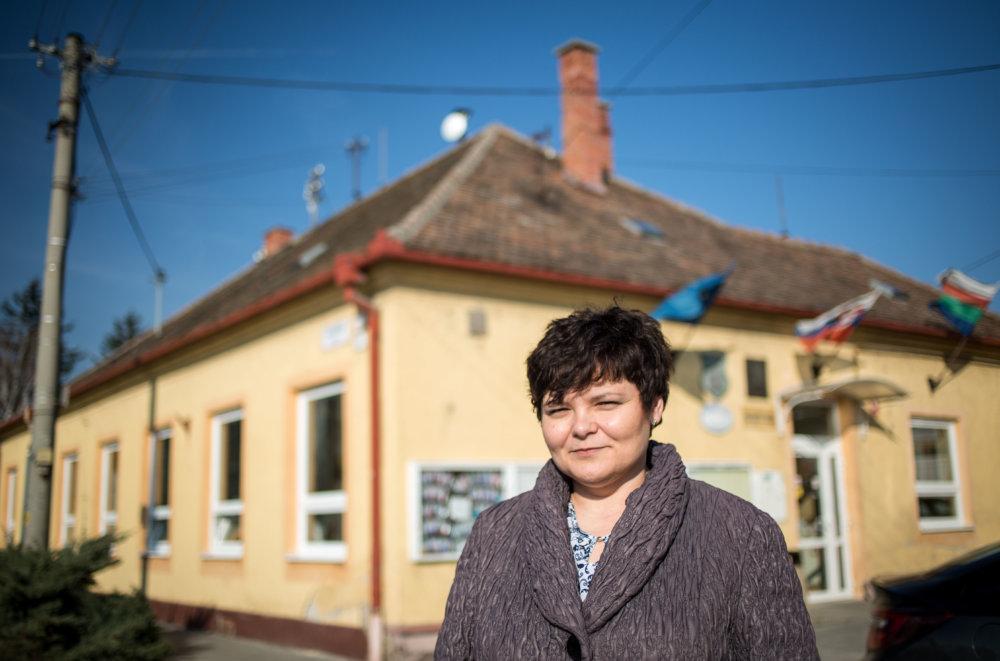 Terézia Kavuliaková - súčasná primátorka Leopoldova, ktorá pokračuje v práci na súťaži a chystá ďalšiu. Foto N - Tomáš Benedikovič