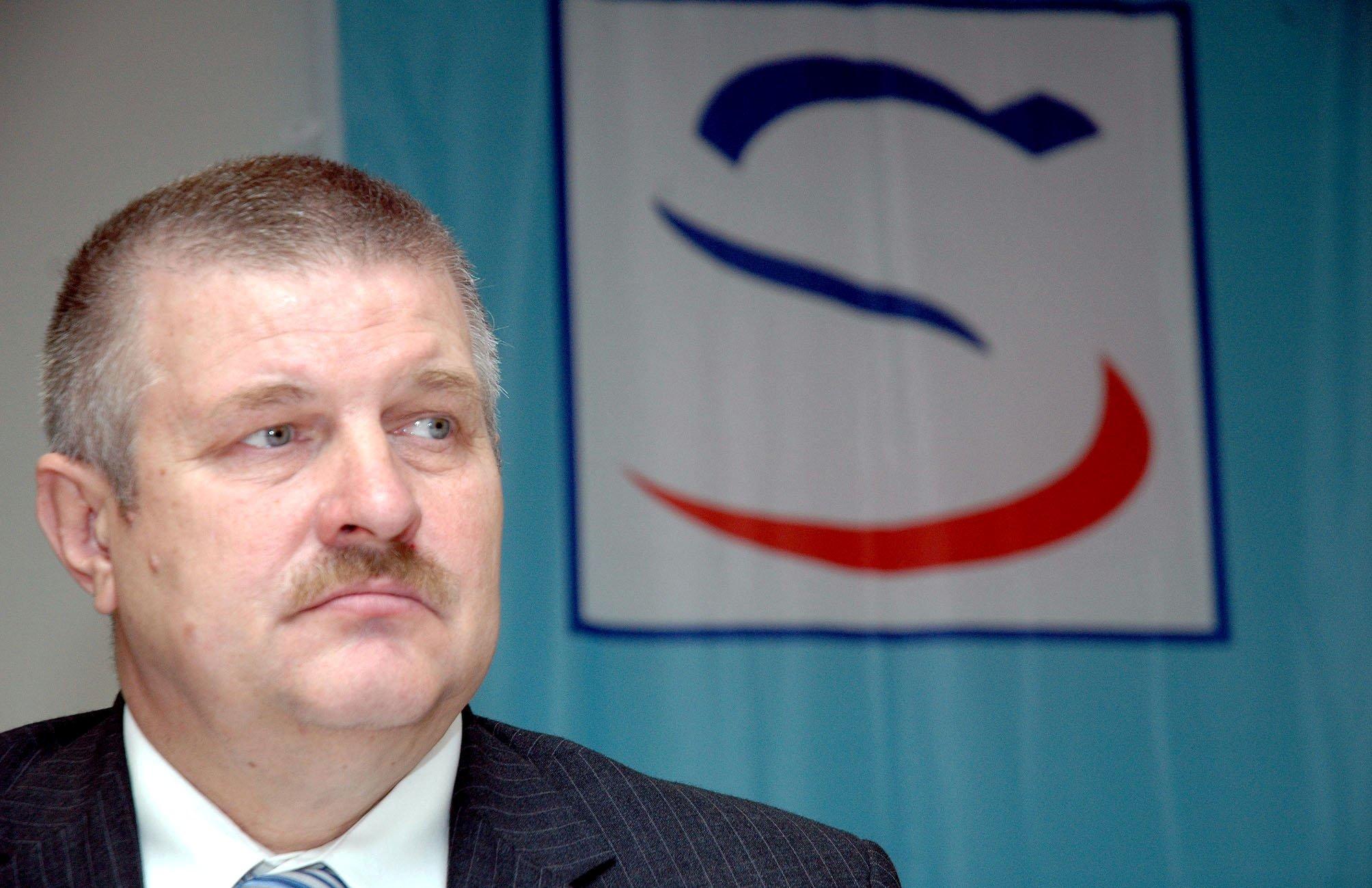 Viliam Veteška chcel kandidovať proti Mečiarovi. Foto - TASR
