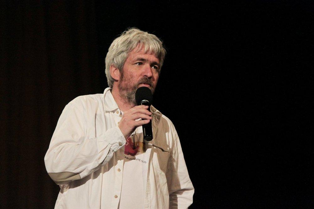 Novinár Andrej Bán. Foto - Karol Sudor