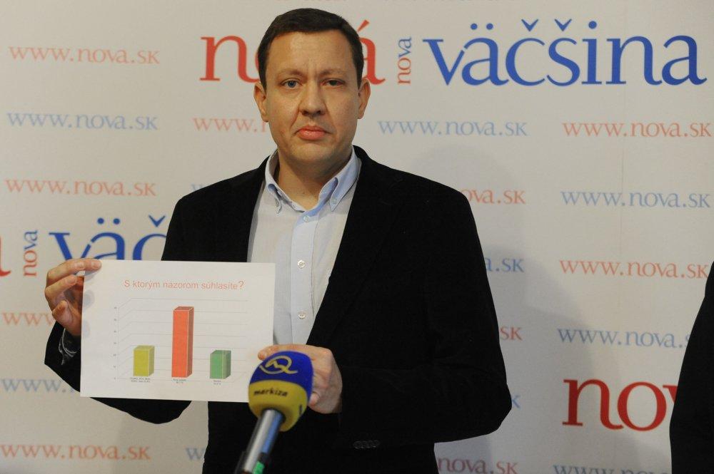Vznik strany Nová väčšina. foto - TASR