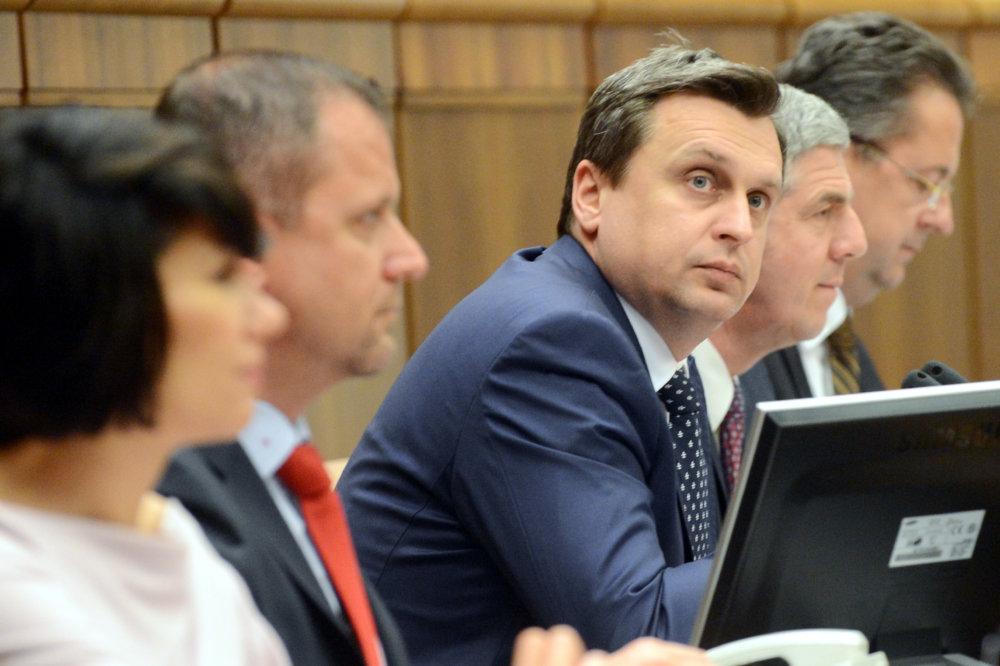 Podpredsedovia a predseda Národnej rady. Foto – TASR