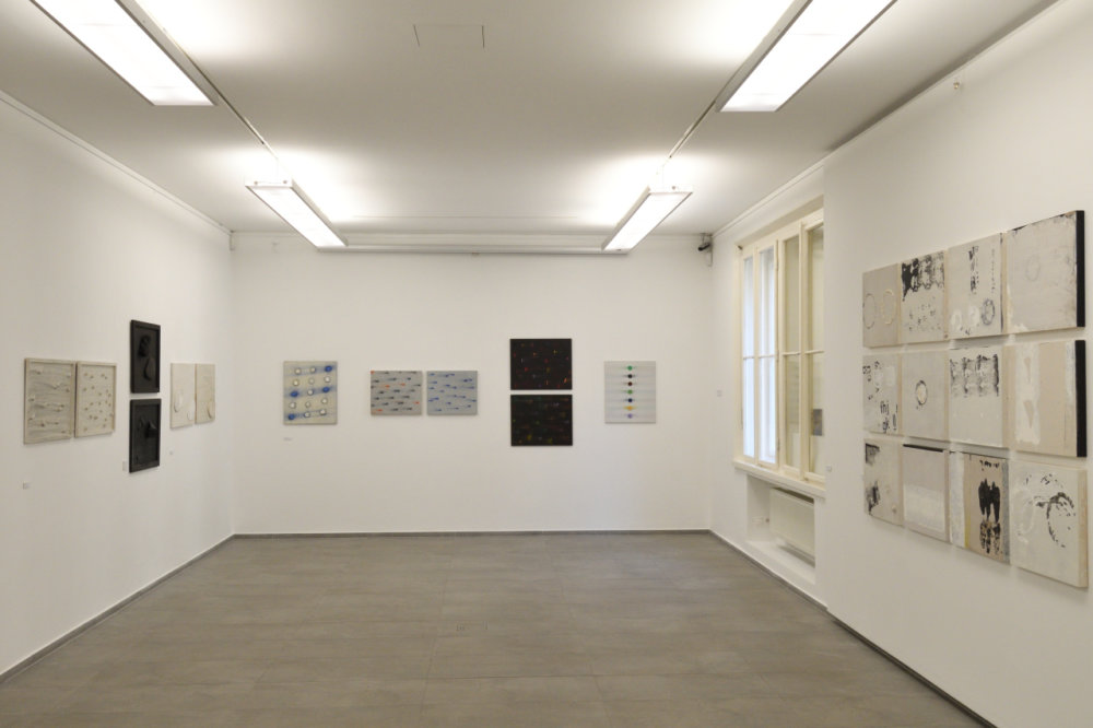 Galéria 19 hostí výstavu diel Dalibora Chatrného do 25. septembra. Foto - Peter Piovarcsy
