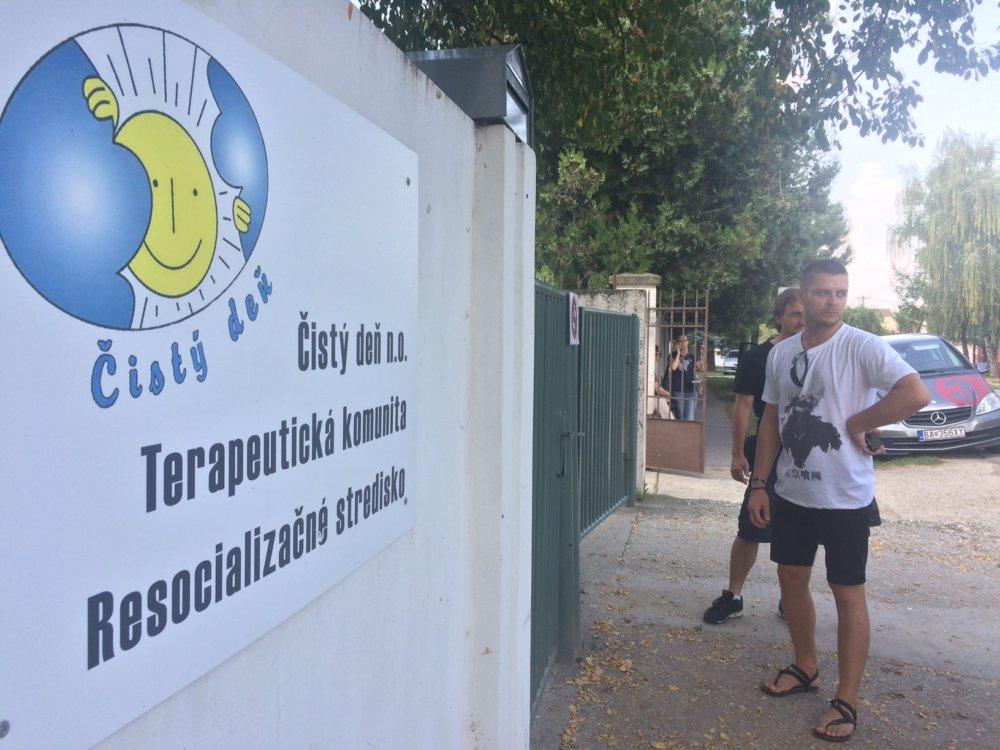 Čistý deň, resocializačný ústav v Galante. foto N – Martina Koník