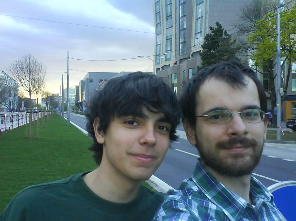 Naša prvá akcia s bratom, keď sme vyčistili stredový pás Trnavskej cesty. Písal sa 8.4.2011