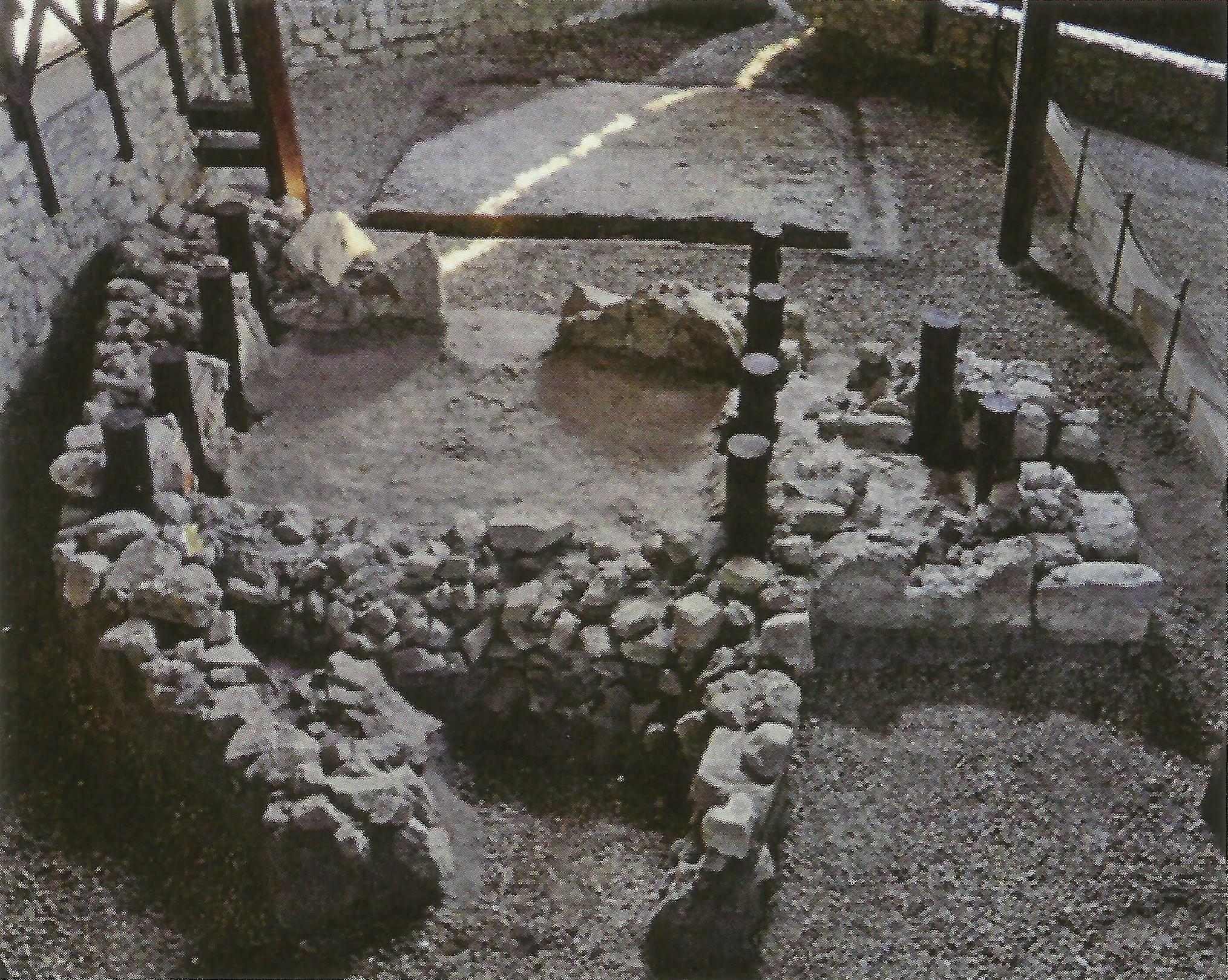 Súčasný stav kresťanskej stavby prezentovaný verejnosti (objekt III), Bratislava-Devín