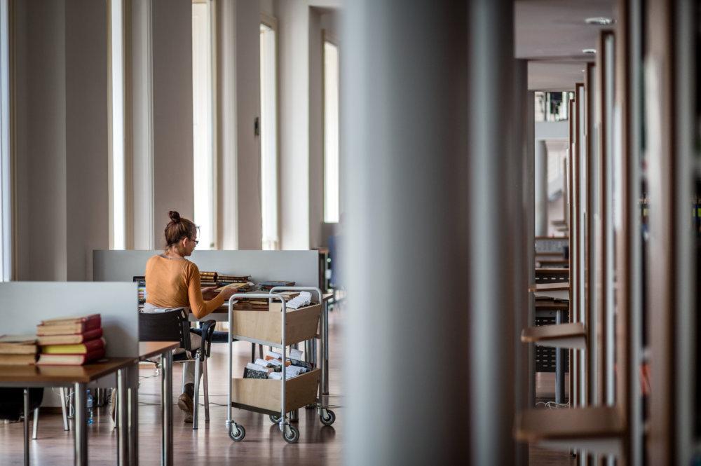 Univerzitná knižnica v Bratislave. Foto N - Tomáš Benedikovič