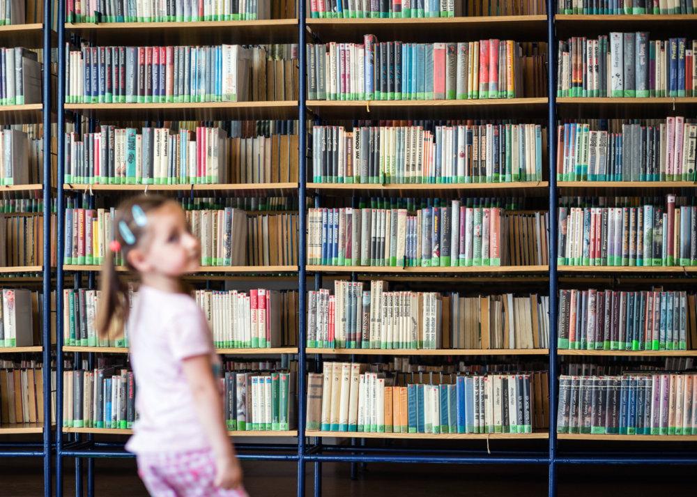 Knižnica v Piesžanoch. Foto N - Tomáš Benedikovič