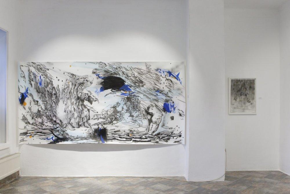 Z výstavy Svetlany Fialovej v Kunstverein. Foto - Michaela Dutková