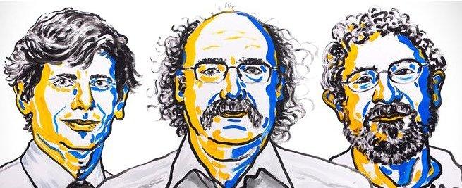 Tohtoročná cena bude prerozdelená medzi troch laureátov. Foto - N. Elmehed, nobelprize.org