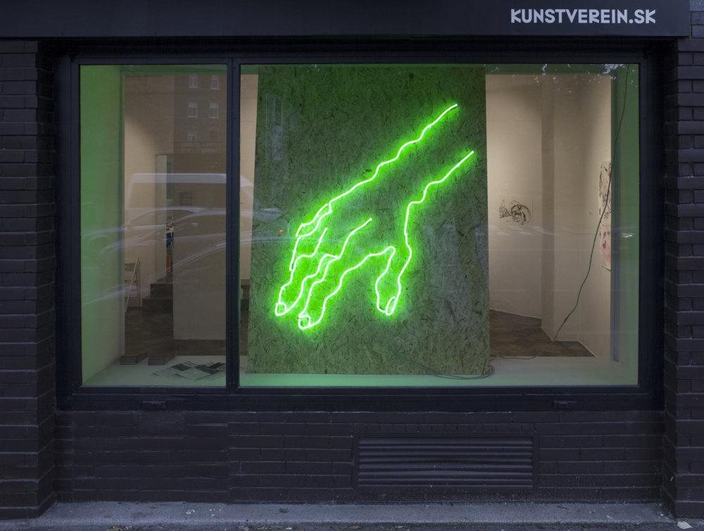 Kunstverein ponúka osobnejší kontakt s umelcami pre tých, ktorí majú o súčasné umenie záujem. Foto - Michaela Dutková
