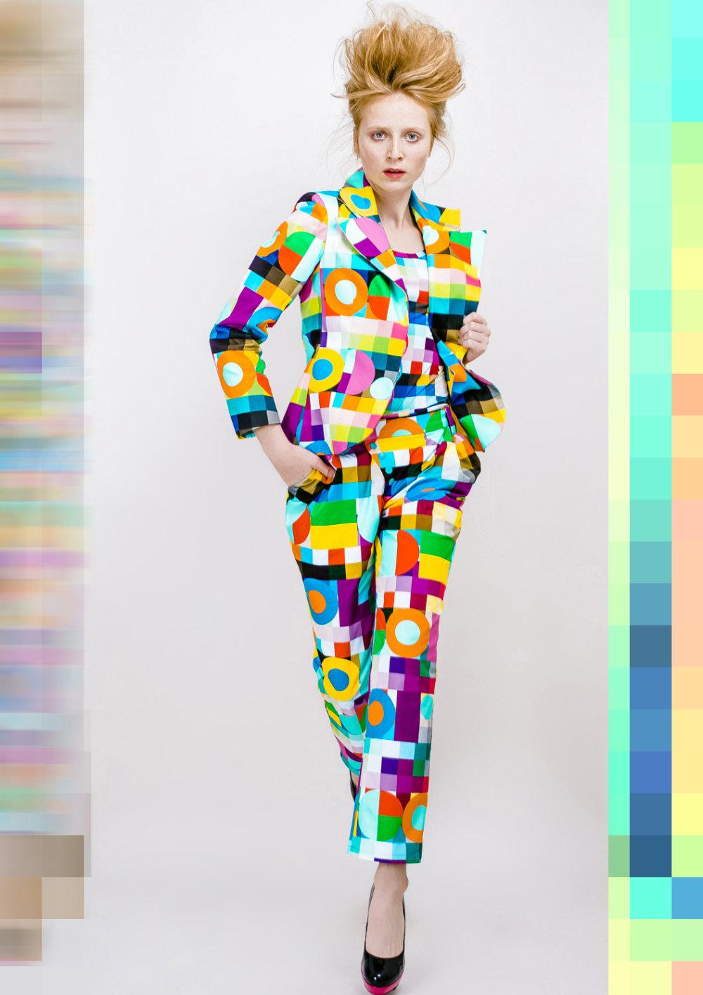Lenka Sršňová, kolekcia Colorcode 2015. Foto – Jakub Gulyás