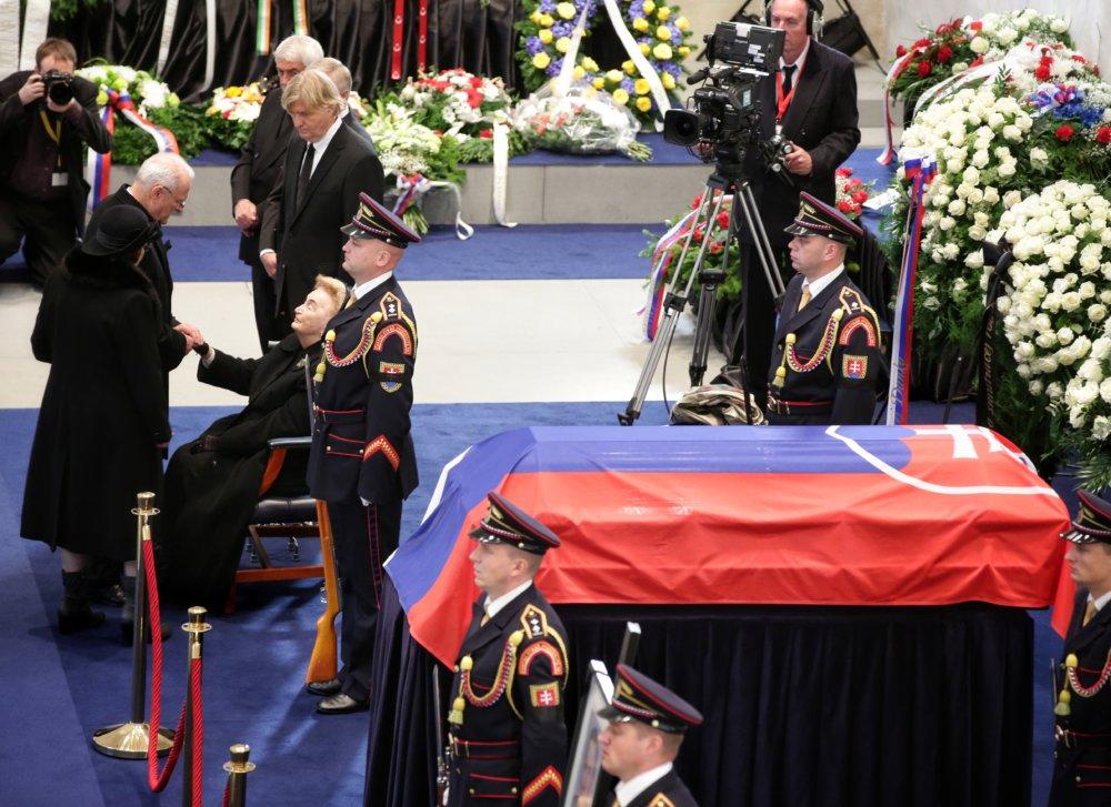 Gašparovičova kondolencia bola krátka. Foto N – Tomáš Benedikovič