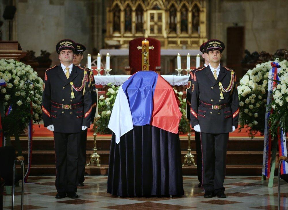 Rozlúčka v Dóme sv. Martina. Foto N – Tomáš Benedikovič
