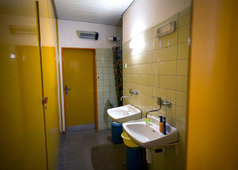 Izby na oddelení dlhodobo chorých majú spoločné sociálne zaiadenia. Foto N - Tomáš Benedikovič