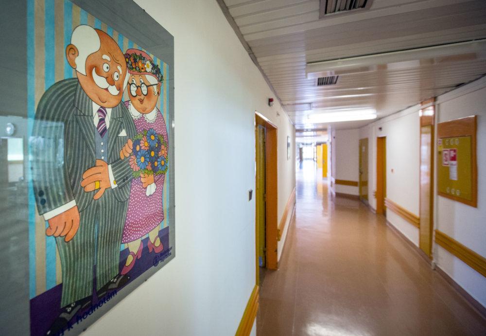 Oddelenie dlhodobo horých. Foto N - Tomáš Benedikovič