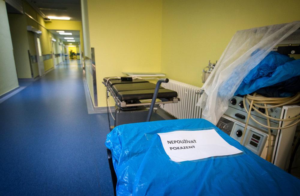 Operačné sály majú problémyy so stolmi, niektoré sú veľmi staré. Foto N - Tomáš Benedikovič
