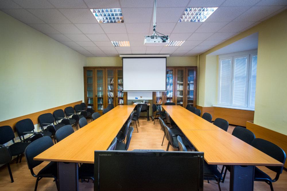 Vyučovacie priestory na neurologickej klinike sú nové a luxusné. Foto N - Tomáš Benedikovič