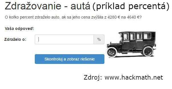 Príklad je z webu hackmath.net. Pre riešenie príkladu kliknite sem.