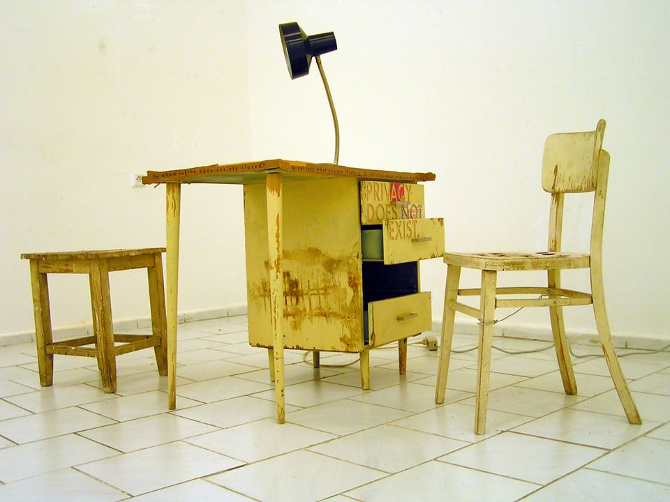 Z výstavy Internal Affairs 3 v CC centrum Petržalka, 2004. Foto - IM