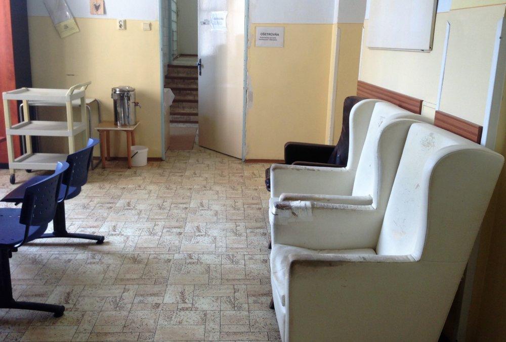 Vybavenie psychiatrie v Starom meste by potrebovalo obnovu. Foto N - Veronika Folentová