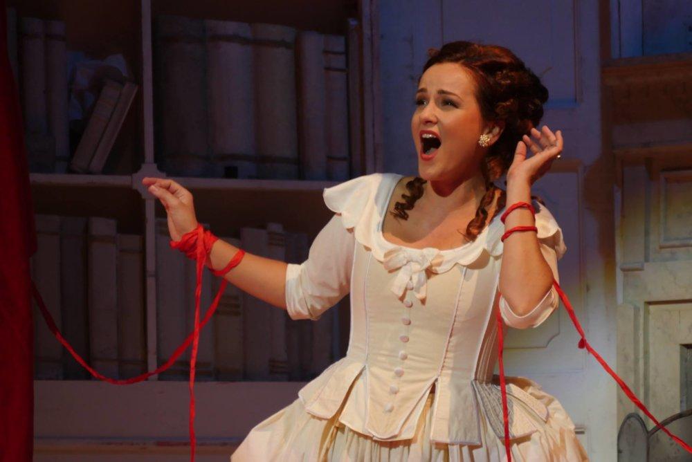 Operná speváčka Andrea Vizvári. Foto - Alena Klenková