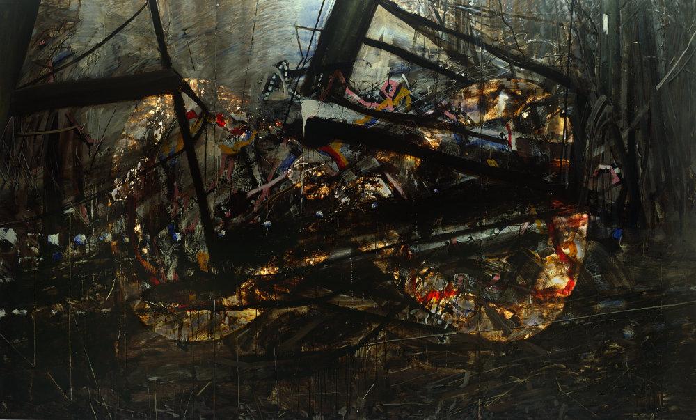 Daniel Fischer: ∞ (fáza stmievania), 1993.