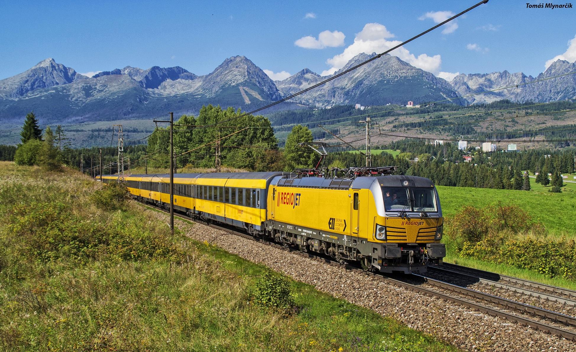 RegioJet je na trati Bratislava - Košice stále stratový - foto: Tomáš MLYNARČÍK