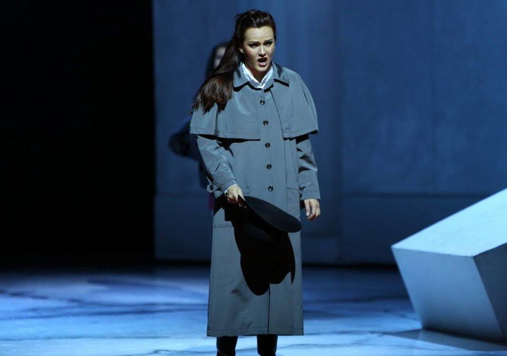 Operná speváčka Andrea Vizvári. Foto - Jozef Barinka