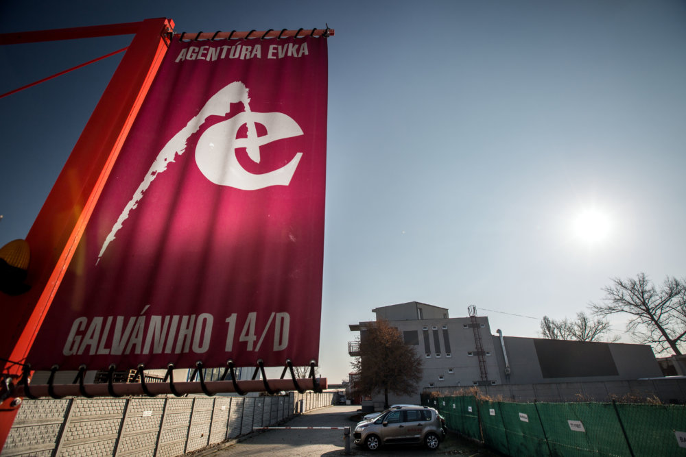 Sídlo agentúry Evka. Foto N - Tomáš Benedikovič