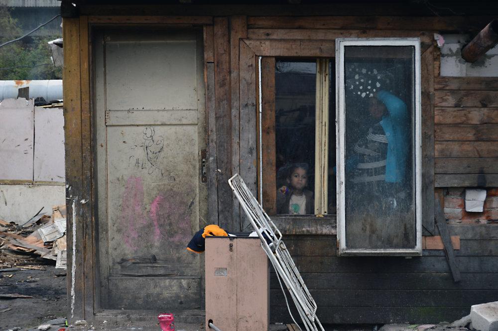 Dom rodiny Kalaovej v osade pri Zvolene. Foto N - Daniel Vražda