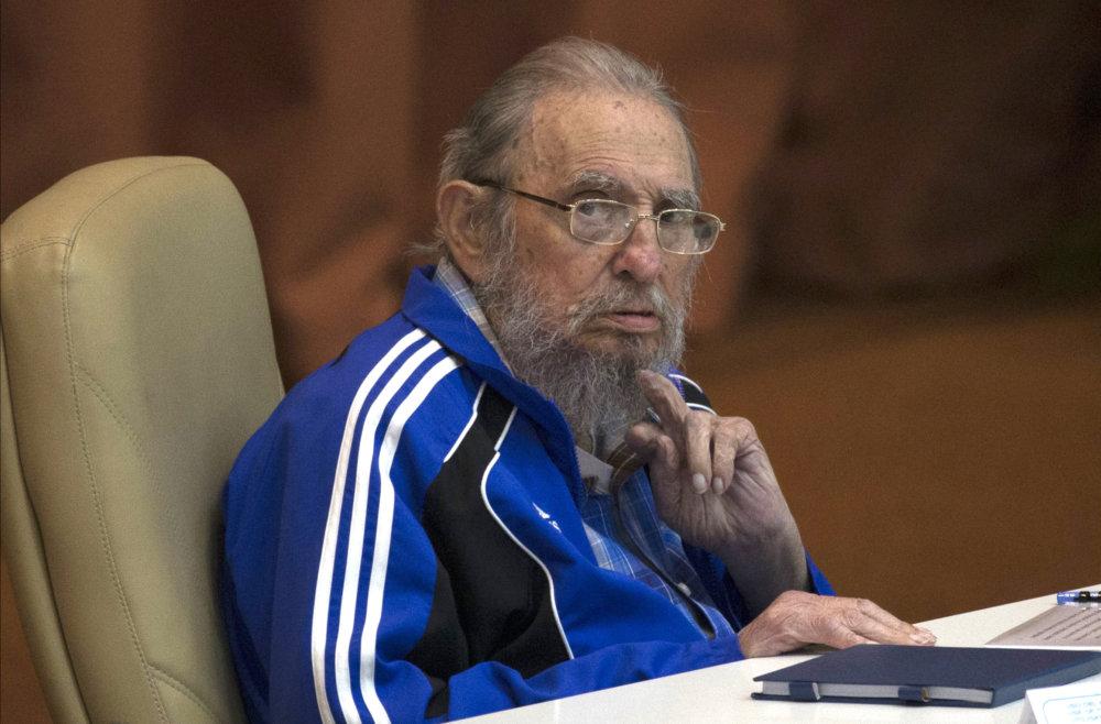 Fidel Castro. FOTO - TASR/AP