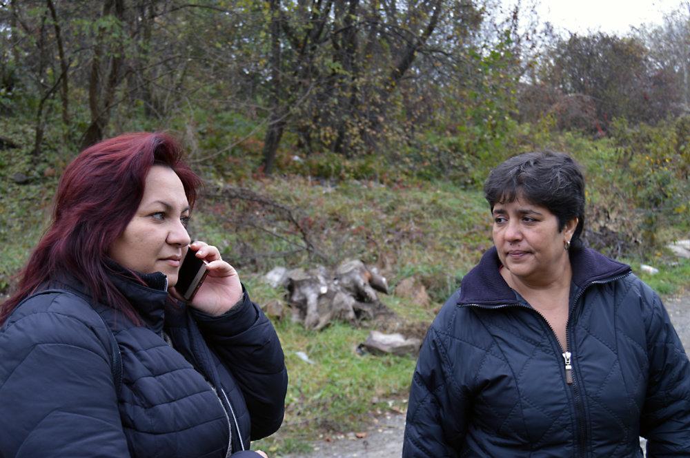 Asistentky zdravia Eva Kováčová (vľavo) a Ľubica Bleiová. Foto N - Daniel Vražda